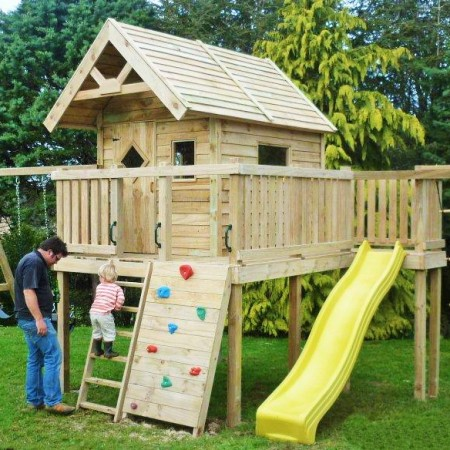 Custom Play Structures